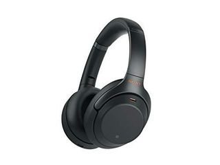 Sony WH1000XM3 Noise Cancelling Headphones  Wireless Bluetooth Over the Ear Headset Black  2018 Version