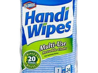 Clorox Handi Wipes  Dry Multi Use Reusable Cloths  72 Count