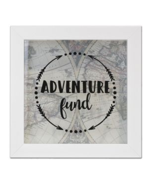 Adventure Fund Black Shadow Box  8  x 8