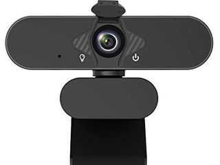 1080P Webcam with Microphone   Privacy Cover  Web Cam USB Camera  Computer HD Streaming Webcam for PC Desktop   laptop w Mic  Wide Angle lens   large Sensor for Superior low light