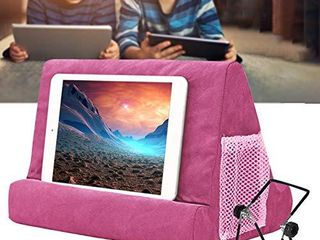 Yoruii Soft Pillow for ipads  Multi angle Phone Pillow lap Stand  Universal ipad Tablet Reading Stand Pillow Holder for ipads  Tablets  EReaders  Smartphones  Books  Magazine