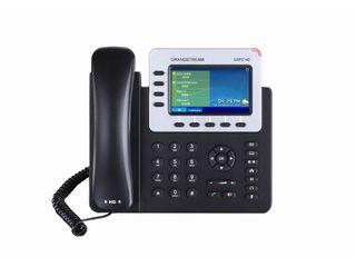 Grandstream   Enterprise Ip Corded Phone With 4 3  Color lcd