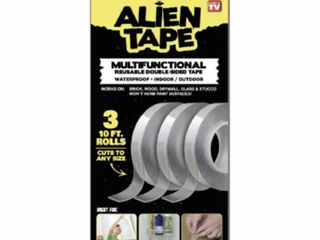 Alien Tape a Instantly locks Anything into Place Without Screws  Anchors or Adhesive  As Seen on TV