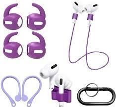 Topetech 4 in 1 Accessory Set for Sole Airpods PRO  Purple
