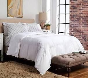 As Is Northern Nights 650 Fill Power Cotton Down Comforter Queen White