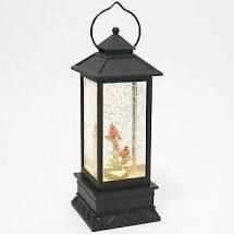 Illuminated Holiday Water lantern with Timer by lori Grein Cardinal
