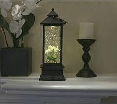 Illuminated Color Changing Water lantern with Timer by lori Greiner White Orchid