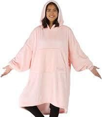 The Comfy Dream lite Oversized Wearable Blanket Blush