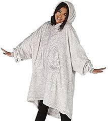 The Comfy Dream lite Oversized Wearable Blanket Grey