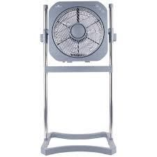 Air Innovations 12  3 in 1 Swirl Cool Stand Fan with Remote Platinum