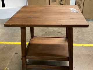 Haverhill Reclaimed End Table Brown   By Threshold