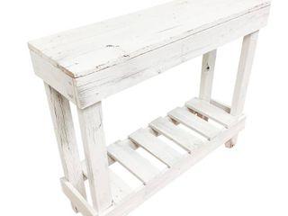 Handmade Del Hutson Designs Barnwood Sofa Table  Retail 91 99