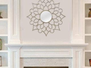 Stratton Home Decor Fracesca Wall Mirror
