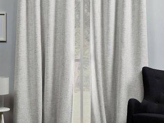 ATI Home Burke Complete Blackout Grommet Top Curtain Panel Pair