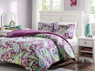 Intelligent Design Kayla Printed Reversible Comforter Mini Set