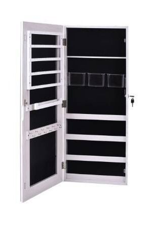 35  PVC Wall Hanging Door Jewelry Cabinet Fitting Mirror Cabinet  Retail 82 49