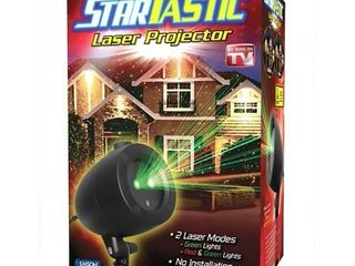 StarTastic 1827 Holiday laser light Show  Static Features As Seen on TV