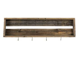 Handmade Del Hutson Designs Reclaimed Wood Coffee Shelf