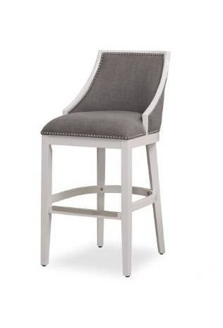 lawrence White Bar Stool by Greyson living  Retail 216 49