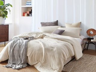 BYB Bare Bottom Comforter   Almond Milk  Retail 166 81