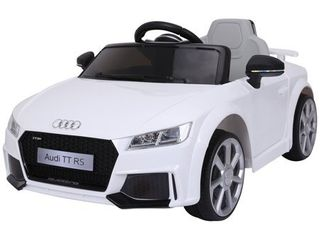 Aosom 6V Audi TT RS Kids Electric Sports Car Ride On Toy One Seat with Remote Control  Retail 182 49