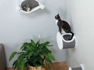 TRIXIE Sisal Wall Mounted Cat lounging and Scratcher Set  Retail 81 48