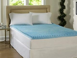 Comforpedic loft from Beautyrest Dorm 4 inch Textured Gel Memory Foam Mattress Topper only Retail 101 49 twin xl