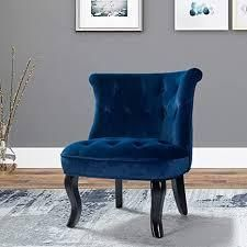 jane accent chair navy