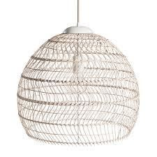 tavern 1light rattan pendant 19x83 light brown