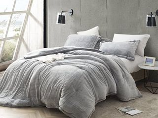 Coma Inducer Frosted Black Oversized Comforter  Retail 131 99 king