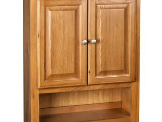 Raised Panel Oak Bathroom Cabinet  Retail 282 44