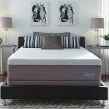 slumber solutions choose your comfort 14 inch gel memory foam mattress   white plush king light grey