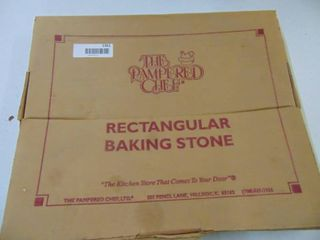 Pampered Chef Baking Stone