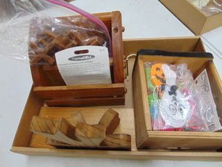 Wooden Crosses  Napkin Holdr and More