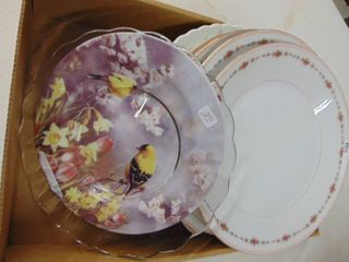 4 Harmony House China Dinner Plates and More