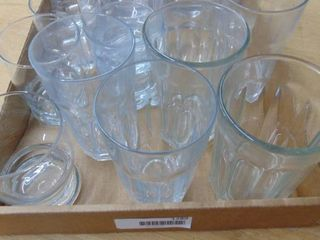 Assortment Of Ice Tea and highball glasses