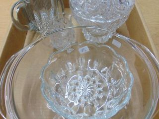 Assorted Candy Holders   Pitcher   Serving Bowls and more