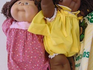 3 Cabbage Patch Dolls and More