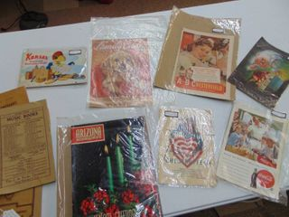 Vintage Advertisements and Paper Pieces
