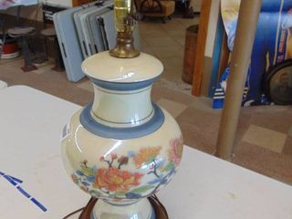 Handpainted lamp