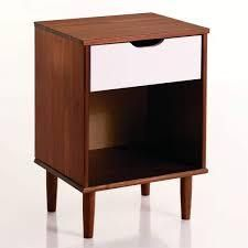 Carson Carrington Ulserod Transitional Single Drawer Nightstand