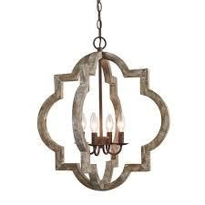 The Gray Barn Hester Gulch Farmhouse 4 light Chandelier Retail 234 99