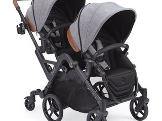 Contours Curve Double Stroller  6 wheel Design  Easy Navigation  Multiple Seating Configurations