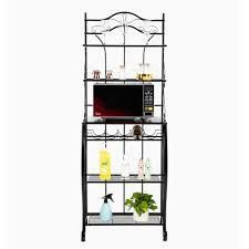 Multiuse 5 Tier Metal Kitchen Bakers Rack Microwave Stand  Retail 97 49