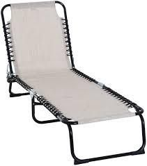 Outsunny 3 Position Reclining Beach Chair