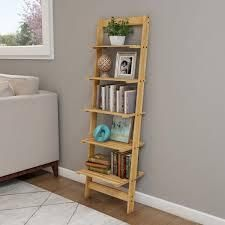 5 Tier ladder Bookshelf by lavish Home 1