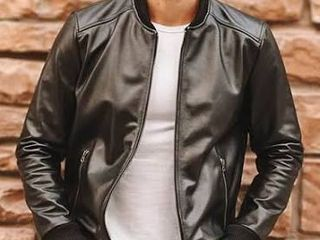 Men s SIZE SMAll Butter Soft Black lamb leather Jacket  Retail 194 99