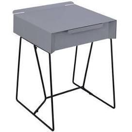 Furniture of America Omer Modern Metal Side Table