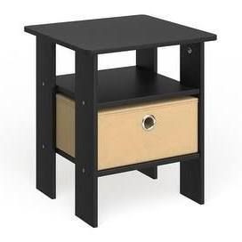 PAIR OF Porch   Den Cooper Square End Tables  Nightstands