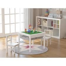 UTEX 2 in 1 Kids Activity lego table with